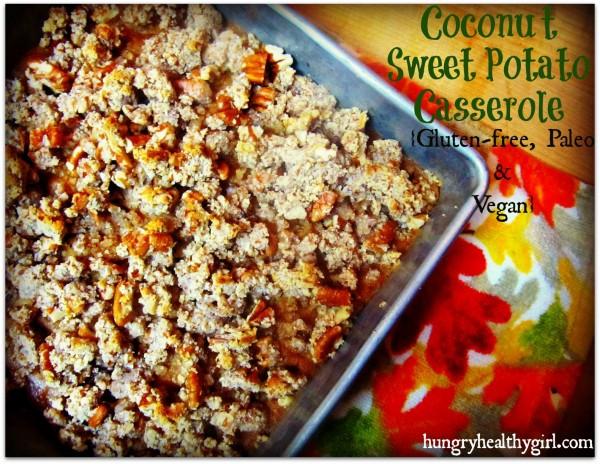 Gluten Free Sweet Potato Casserole  A Coconut Sweet Potato Casserole that s Gluten free Paleo