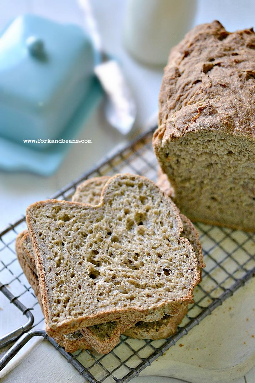 Gluten Free Vegan Bread Recipe  Gluten Free Vegan Bread Fork and Beans