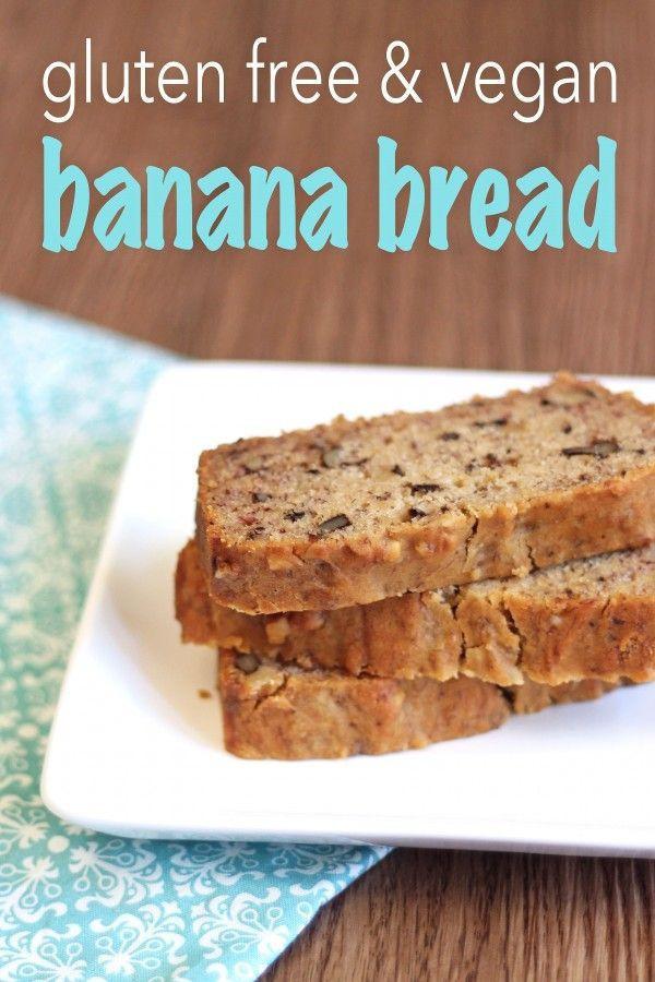 Gluten Free Vegan Bread Recipe  Gluten Free & Vegan Banana Bread Recipe