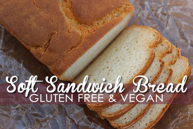 Gluten Free Vegan Bread Recipe  Soft Gluten Free Vegan Bread Recipe Easy & Delicious