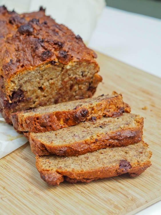 Gluten Free Vegan Bread Recipe  e Bowl Vegan Gluten Free Banana Bread with Dark