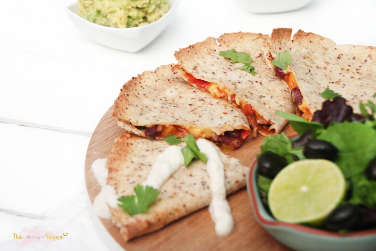 Gluten Free Vegan Recipes  Spicy quesadillas gluten free