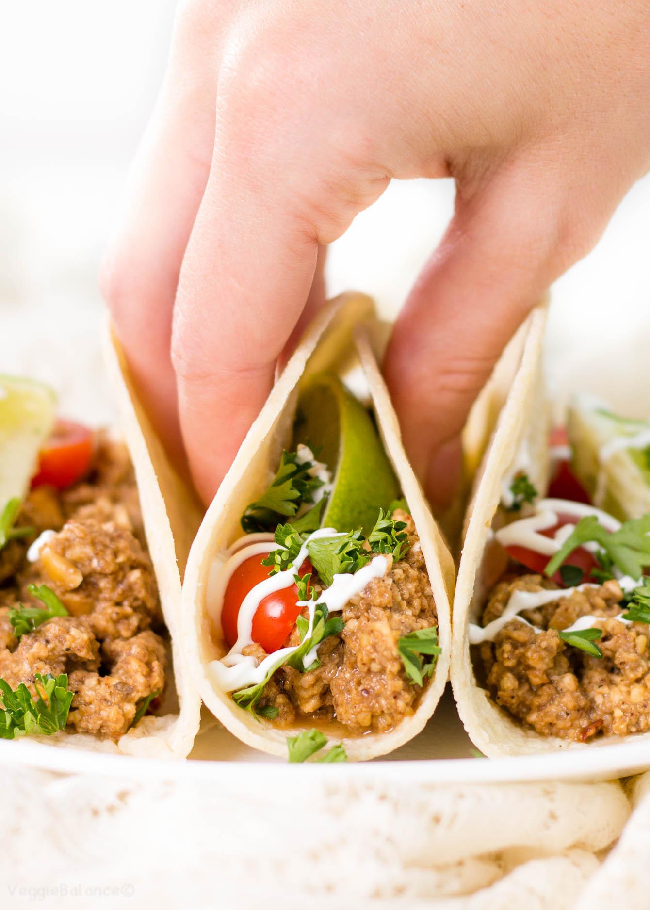 Gluten Free Vegetarian Recipes  Ve arian Taco Meat thats Gluten Free Gluten Free