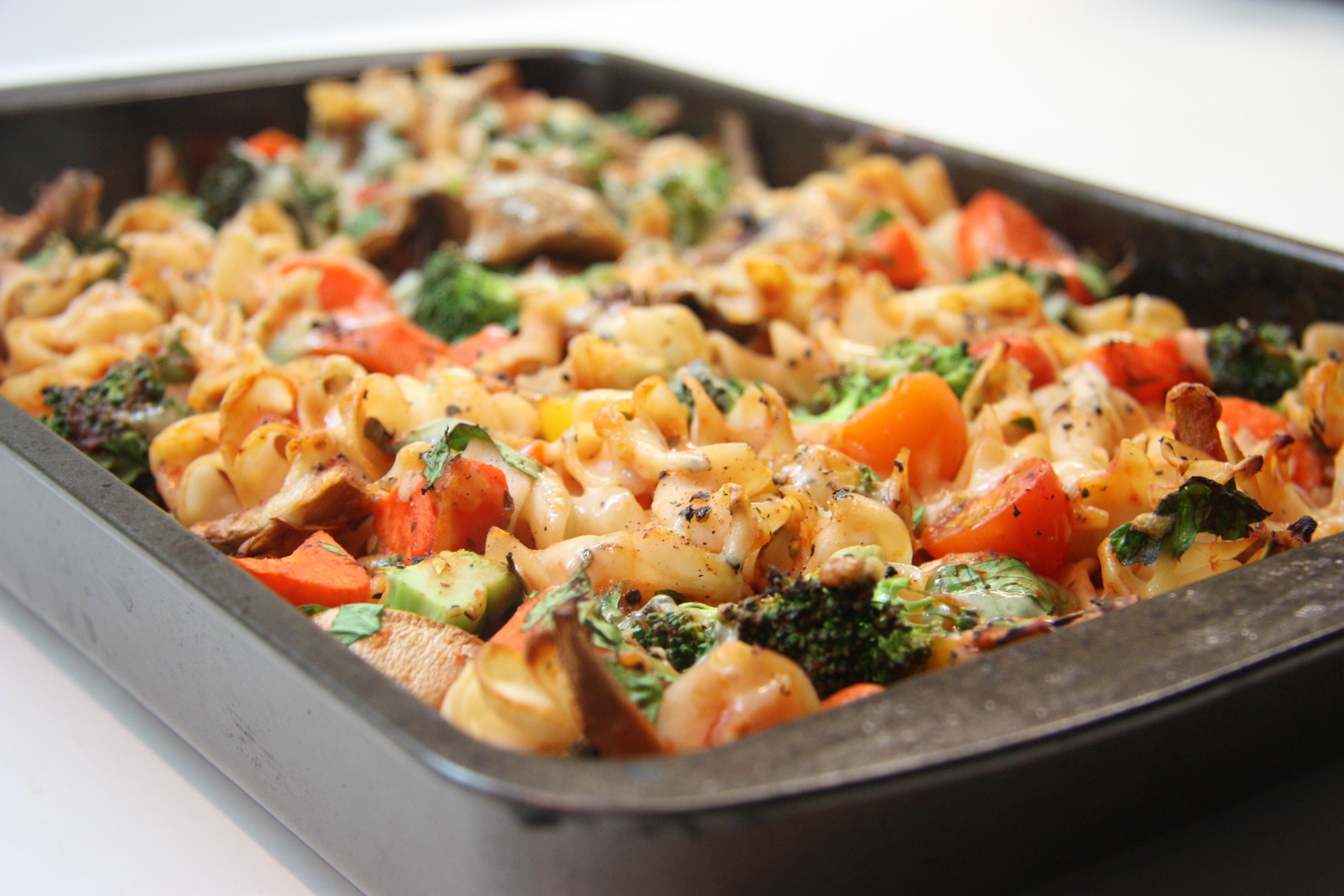 Gluten Free Vegetarian Recipes  baked ve able pasta recipes