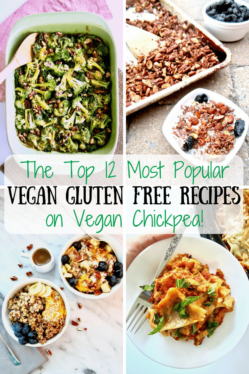 Gluten Free Vegetarian Recipes  The Top 12 Most Popular Gluten Free Vegan Recipes on Vegan