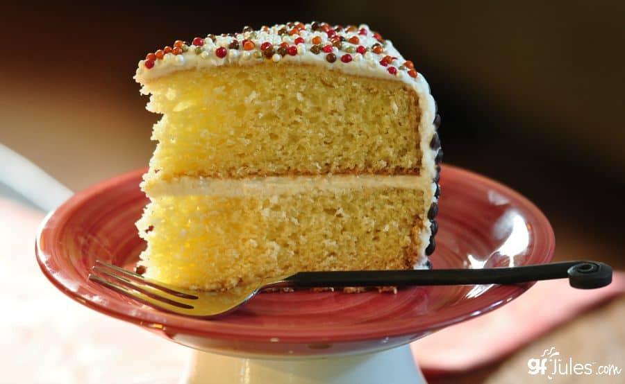 Gluten Free Yellow Cake Recipe  Best Gluten Free Cake Recipe gfJules