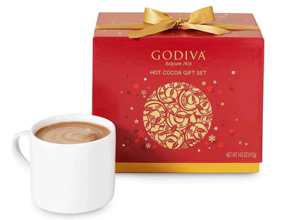 Godiva Hot Chocolate  Emma Roberts and Emmy Rossum Sip Godiva Hot Cocoa for a