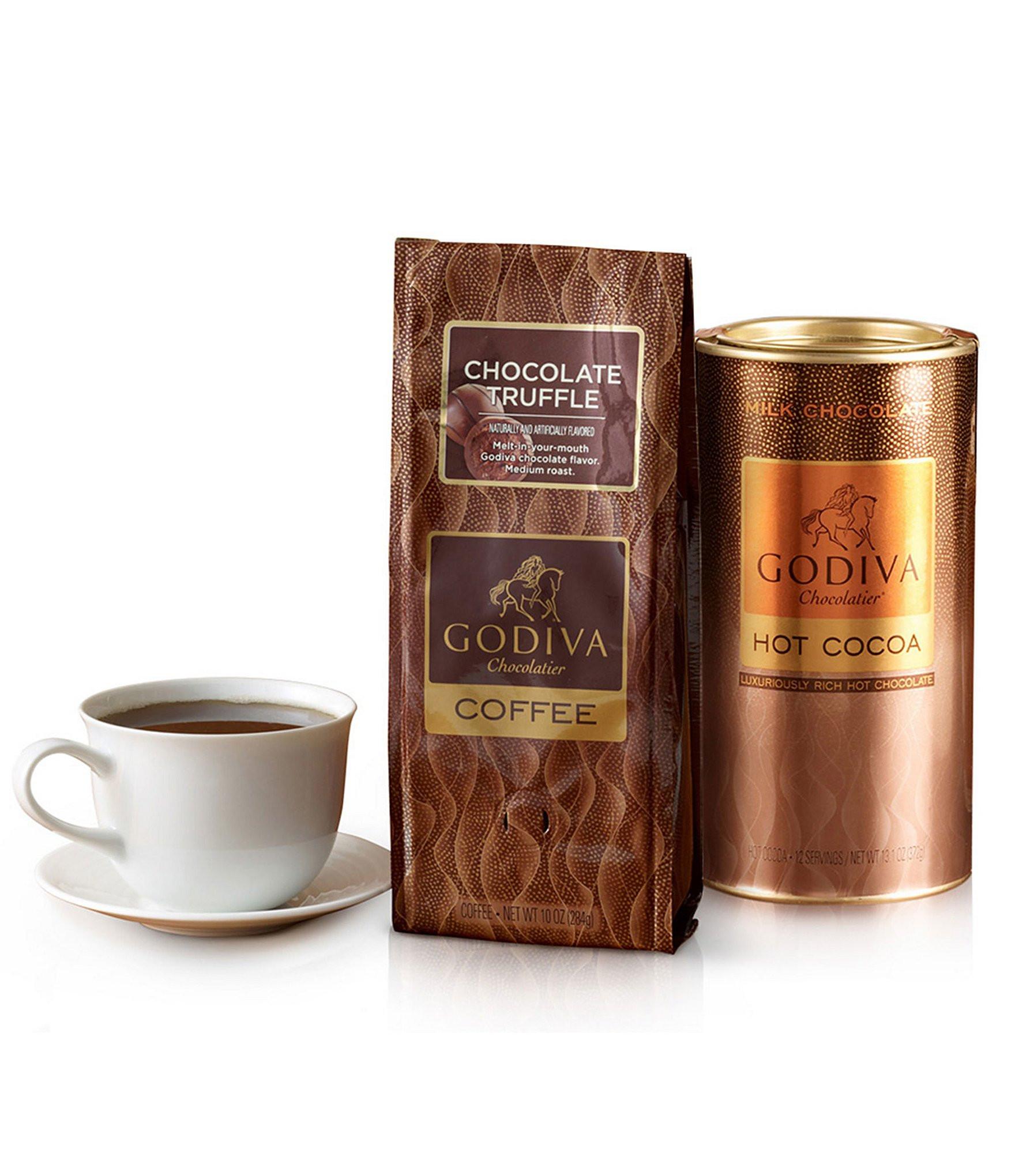 Godiva Hot Chocolate  Godiva Chocolatier Chocolate Coffee & Cocoa Gift Set