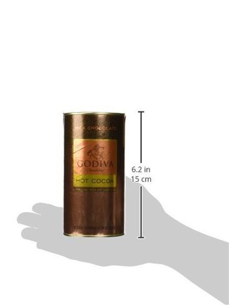 Godiva Hot Chocolate  Godiva Chocolatier Milk Chocolate Hot Cocoa Canister 13