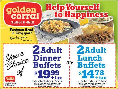 Golden Corral Dinner Menu  Golden Corral Lunch Menu