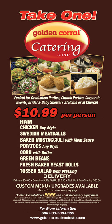Golden Corral Dinner Menu  Golden Corral Menu Prices