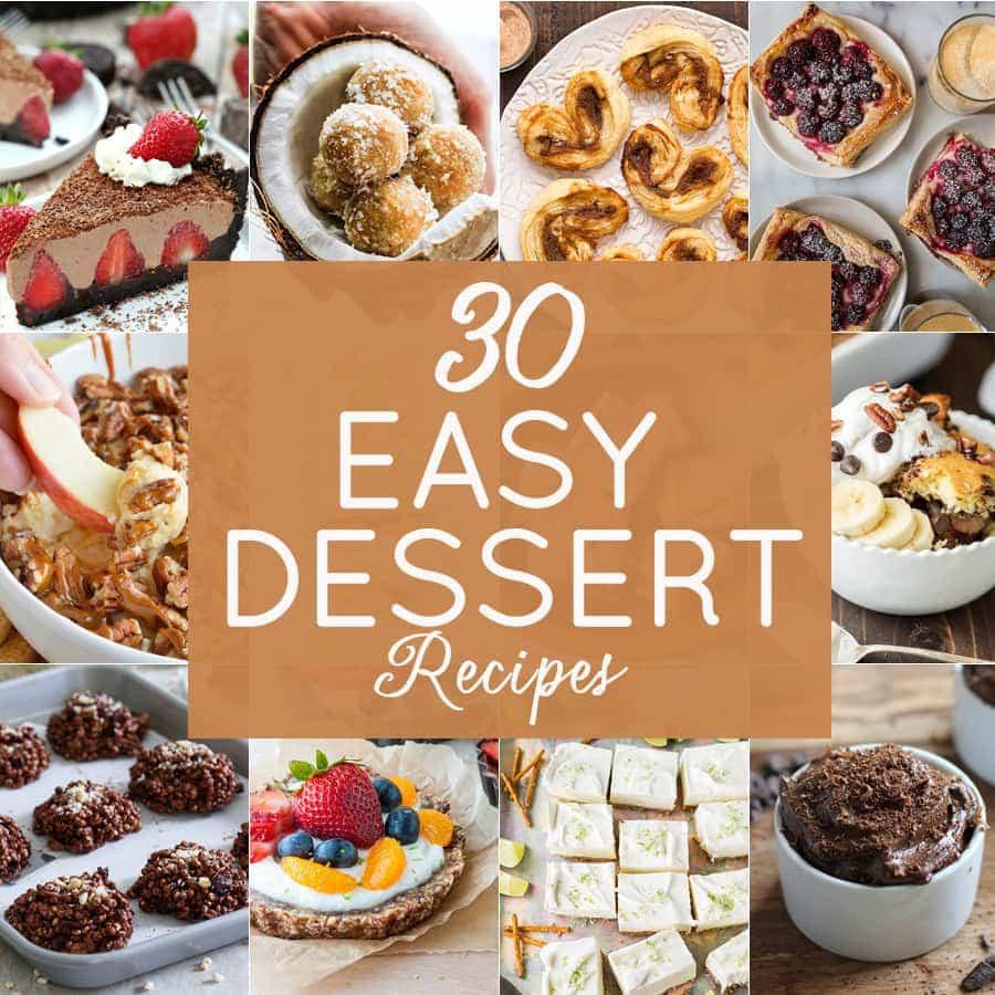 Good Easy Dessert Recipes  10 Easy Dessert Recipes The Cookie Rookie