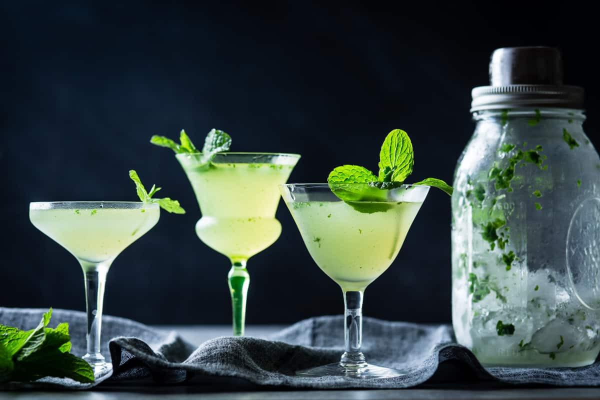 Good Gin Drinks  Verdant Lady Chartreuse Gin & Mint Cocktail • The Bojon