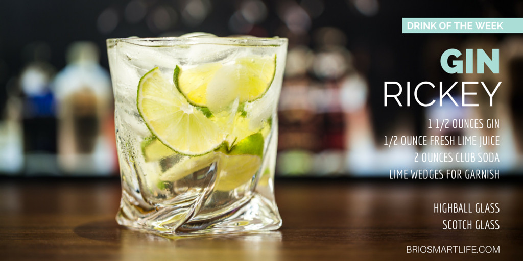 Good Gin Drinks  Drink of the Week Gin Rickey