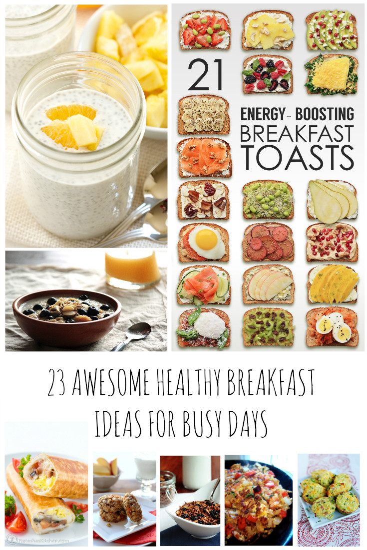 Good Healthy Breakfast Ideas  21 Awesome Fat Busting Healthy Breakfast Recipes