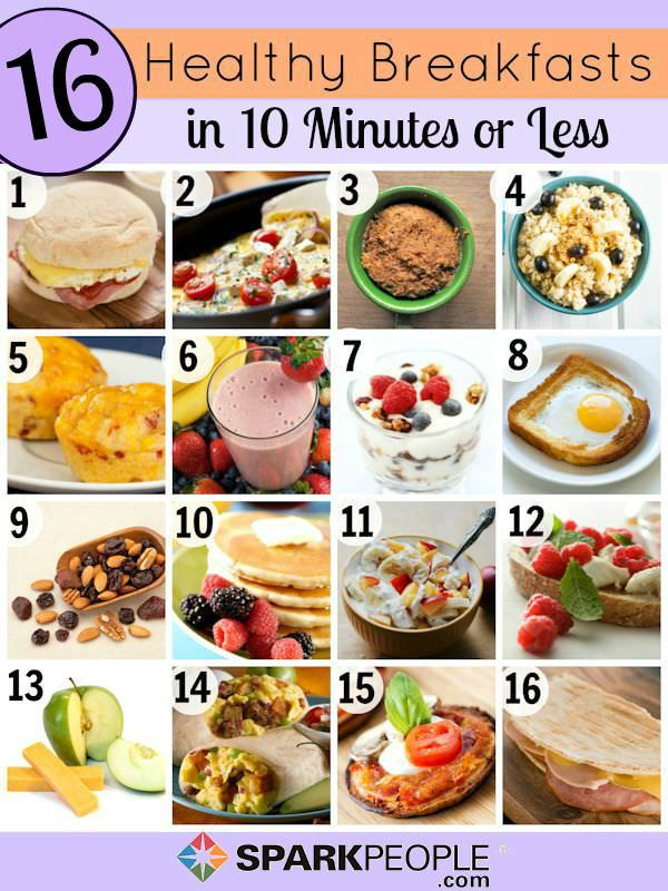 Good Healthy Breakfast Ideas  Quick and Healthy Breakfast Ideas