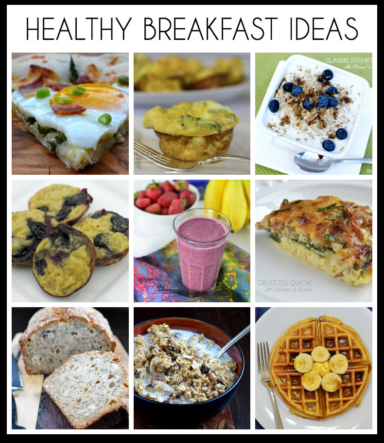 Good Healthy Breakfast Ideas  18 Healthy Breakfast Ideas