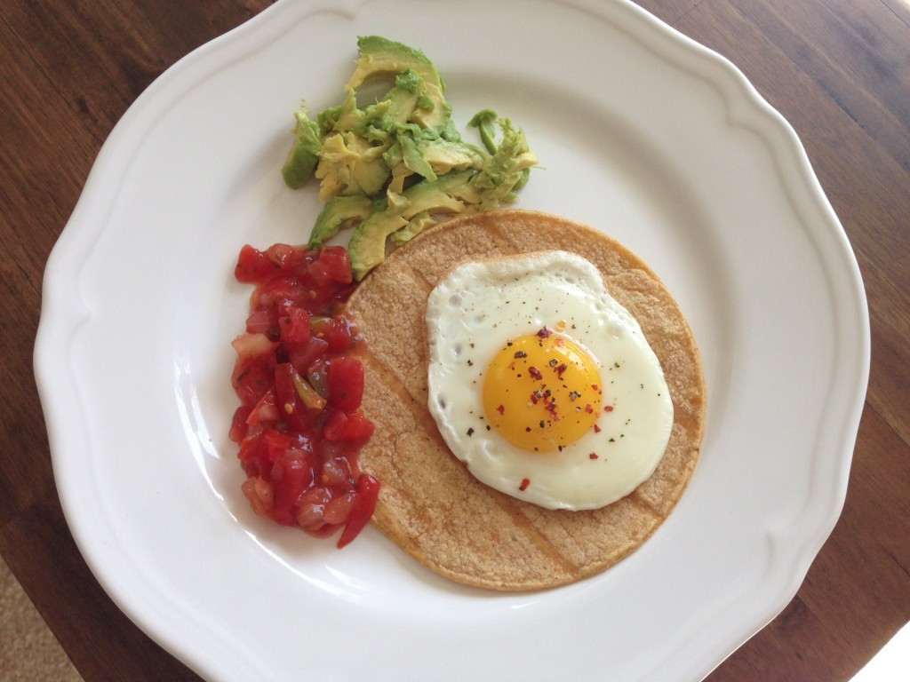 Good Healthy Breakfast Ideas  Egg Tacos