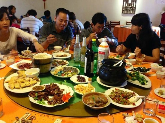 Good Restaurants For Birthday Dinners  Bar Picture of Cloud 9 Restaurant Yangshuo County