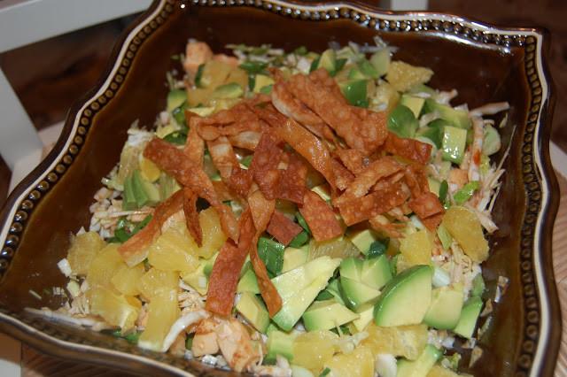 Gourmet Chicken Salad  Gourmet Chinese Chicken Salad