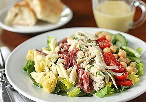 Gourmet Chicken Salad  The Galley Gourmet Antipasto Chopped Chicken Salad