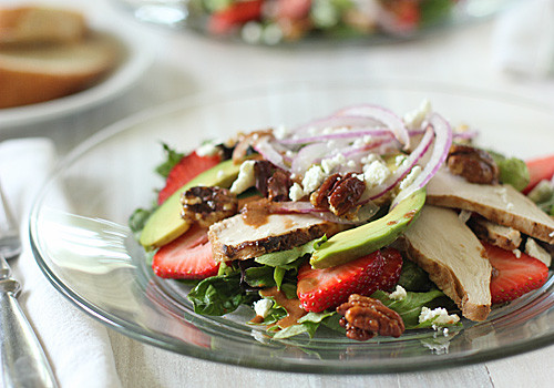 Gourmet Chicken Salad  The Galley Gourmet Strawberry Chicken Salad with Tomato