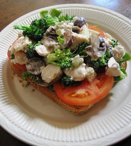 Gourmet Chicken Salad  Ratty Gourmet Chicken Salad Broccoli Tomato Sandwich
