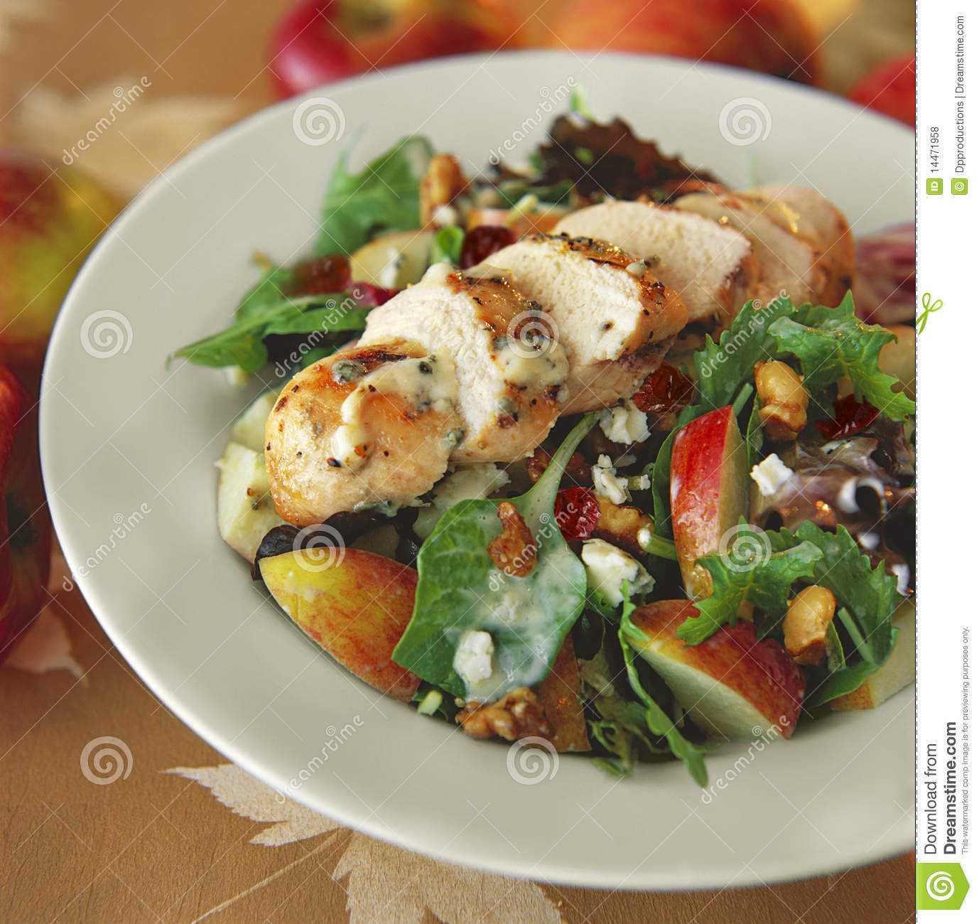 Gourmet Chicken Salad  Gourmet Chicken Salad stock photo Image of healthy
