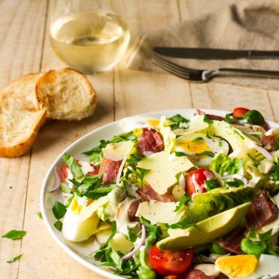 Gourmet Chicken Salad  Gourmet Caesar Salad with Avocado