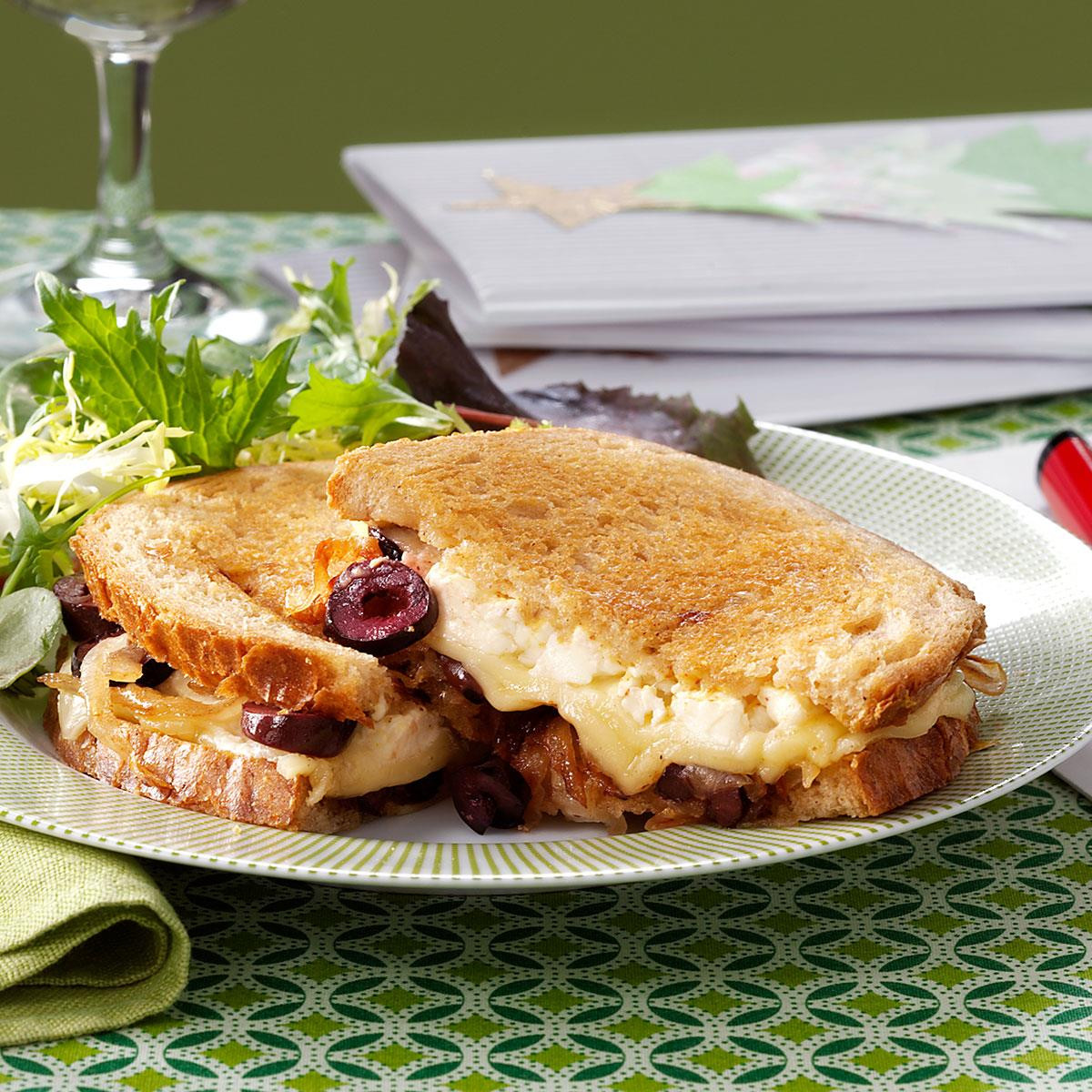 Gourmet Dinner Recipes  Gourmet Grilled Cheese Sandwich Recipe