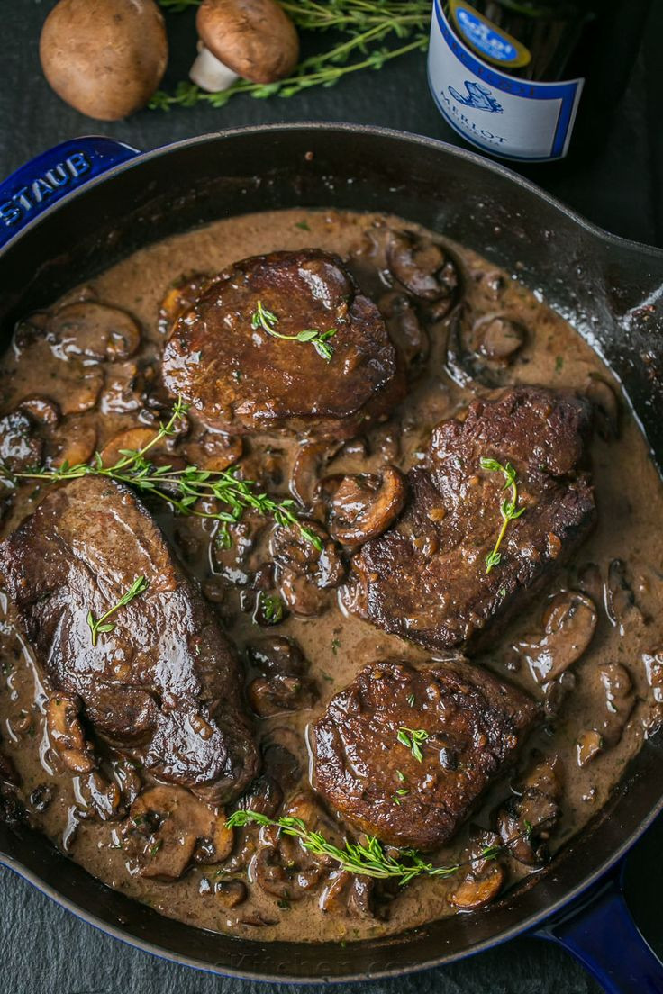 Gourmet Dinner Recipes  Best 25 Fillet steak recipes ideas on Pinterest