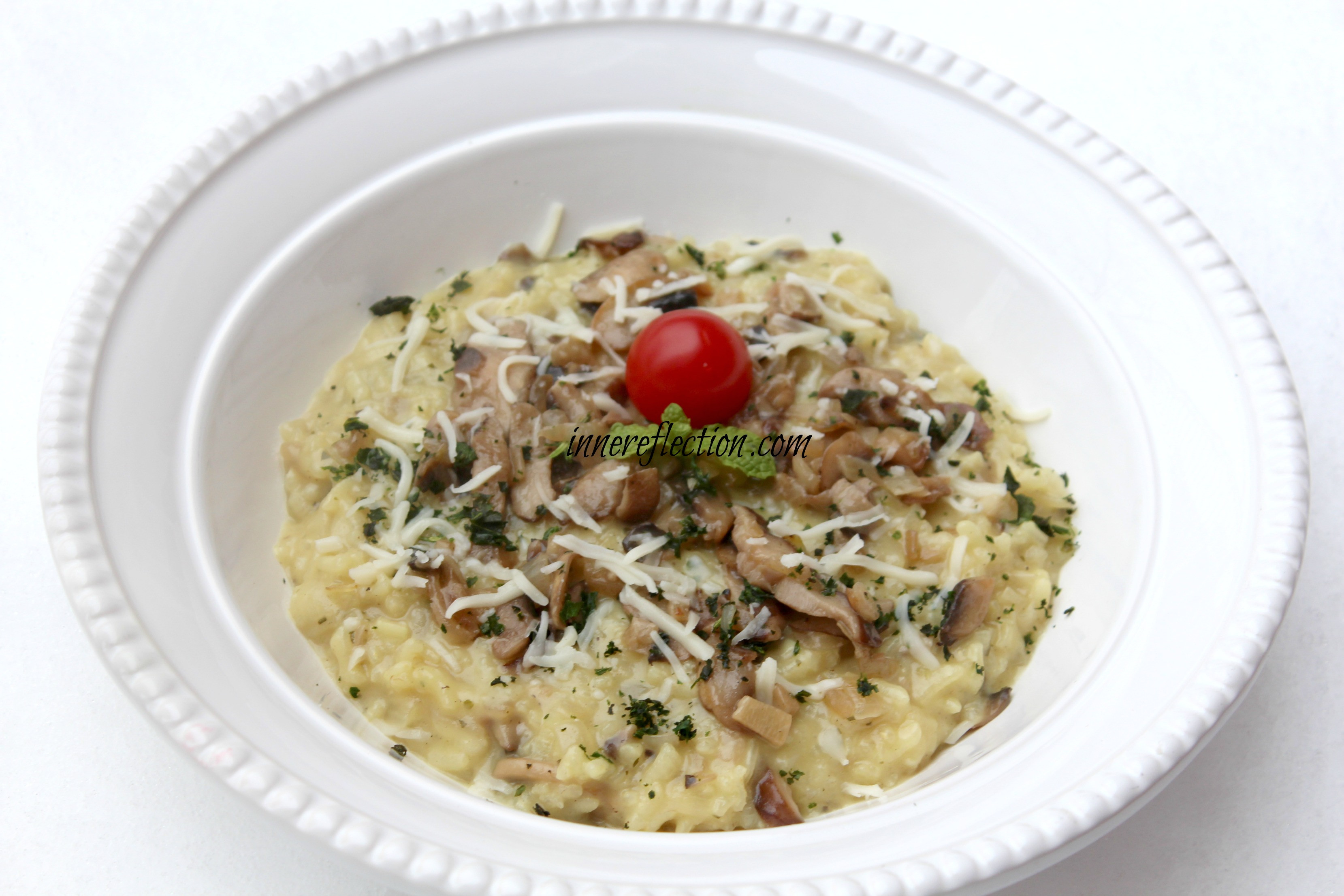 Gourmet Mushroom Risotto  Gourmet Mushroom Risotto innereflection