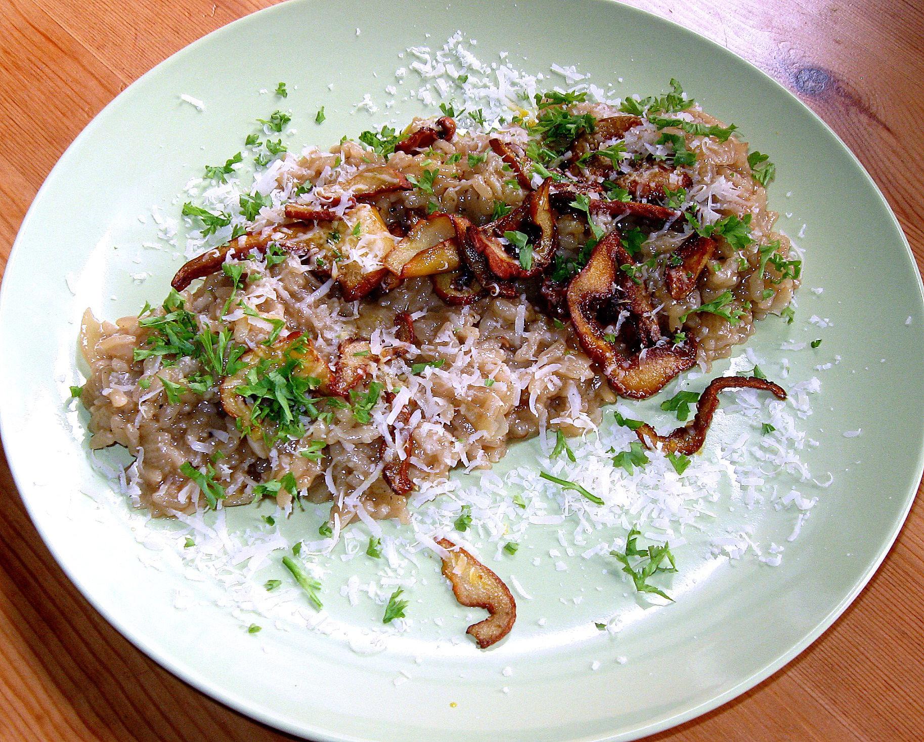 Gourmet Mushroom Risotto  Gourmet Mushroom Risotto recipe – All recipes Australia NZ