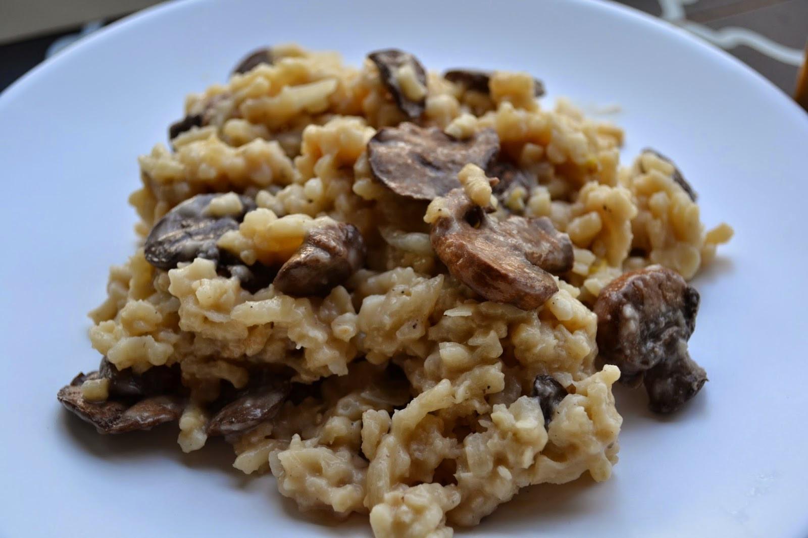 Gourmet Mushroom Risotto  Gourmet Mushroom Risotto