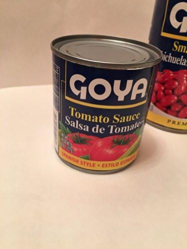 Goya Tomato Sauce  Goya Beans & Tomato Sauce Bundle Pack of 6 Food