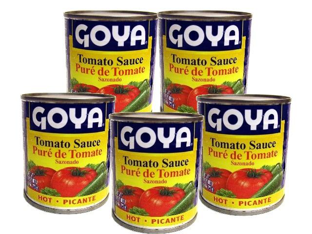 Goya Tomato Sauce  GOYA SALSA DE TOMATE PICANTE Boricua Produce