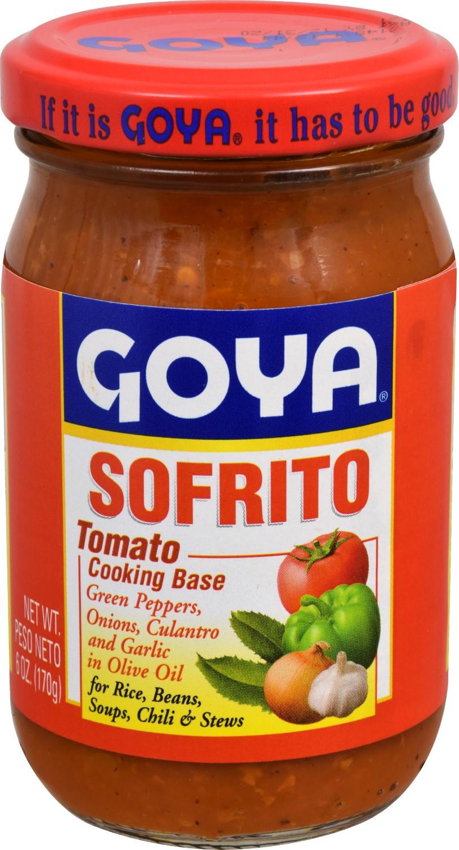 Goya Tomato Sauce  Goya Sofrito Tomato Cooking Base 6 Oz