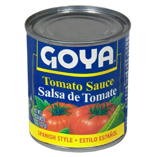 Goya Tomato Sauce  Goya Tomato Sauce 8 Ounce Units Pack 48