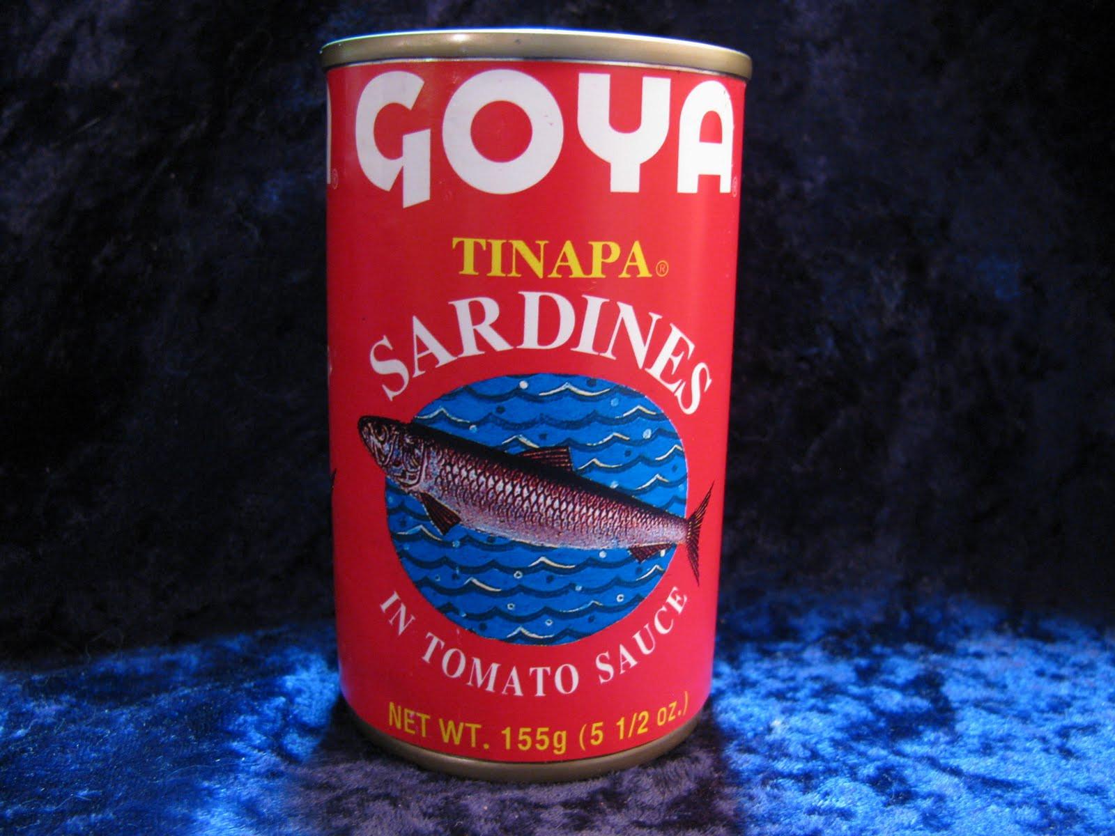 Goya Tomato Sauce  Mouth Full of Sardines GOYA 38