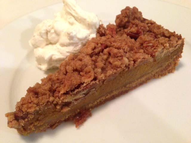 Graham Cracker Crust Pumpkin Pie  how to make pumpkin pie in graham cracker crust