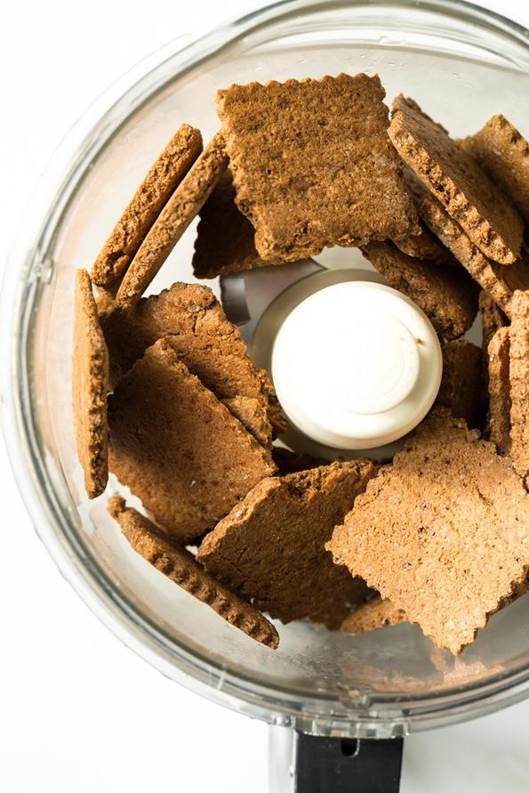 Graham Cracker Crust Pumpkin Pie  Vegan Pumpkin Pie Squares with Gluten Free Graham Cracker