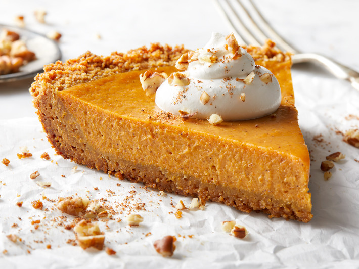 Graham Cracker Crust Pumpkin Pie  Pumpkin Pie with Graham Cracker Crust