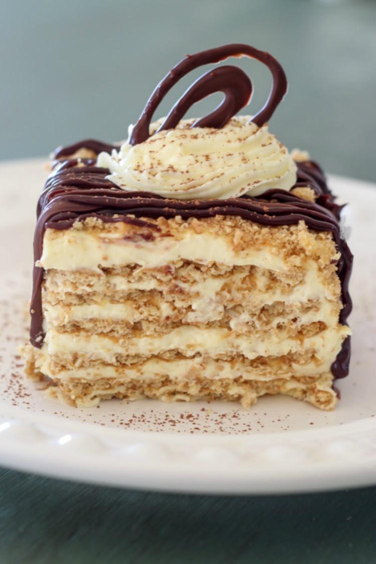 Graham Cracker Dessert  graham cracker pudding cool whip layered dessert