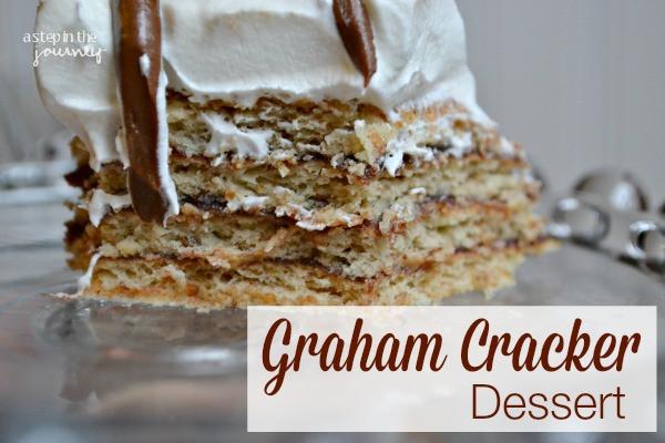Graham Cracker Dessert  Graham Cracker Dessert Recipe
