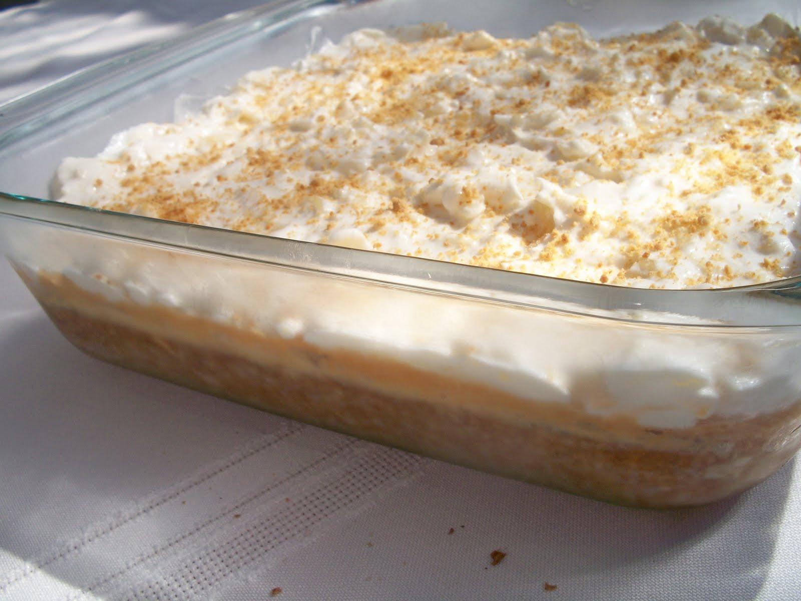 Graham Cracker Dessert  Brooke Bakes Pineapple Delight Dessert
