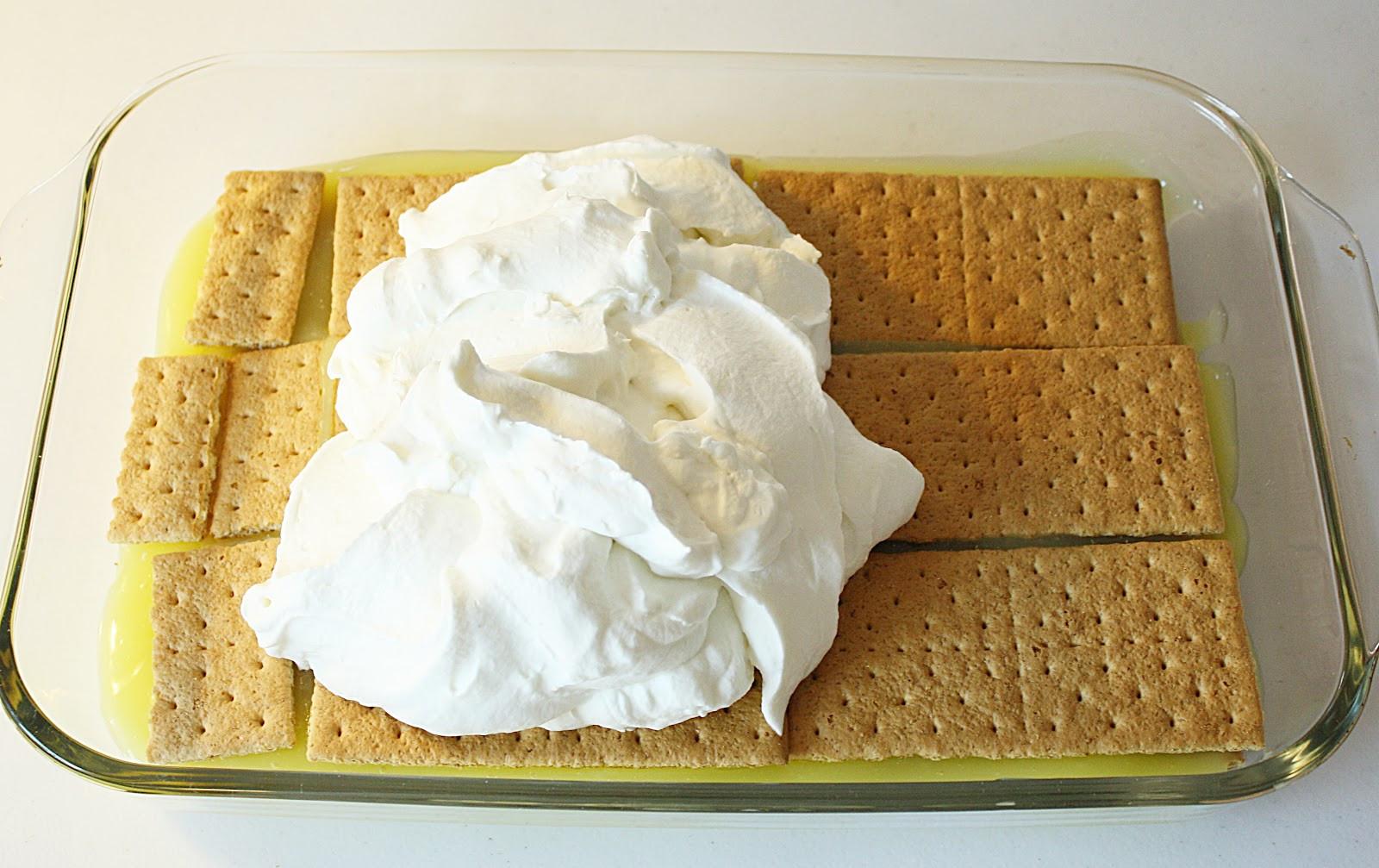 Graham Cracker Dessert  back to basics lemon graham cracker dessert