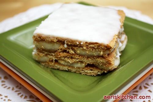 Graham Cracker Dessert  Banana Graham Cracker Dessert – Aeri's Kitchen