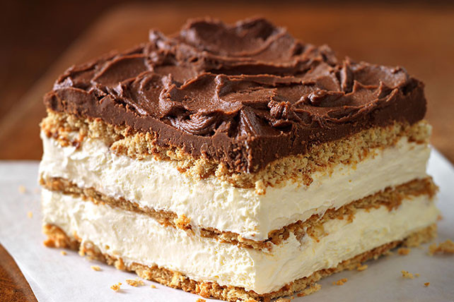 "Graham Cracker Dessert  Graham Cracker Eclair ""Cake"" Recipe Kraft Recipes"