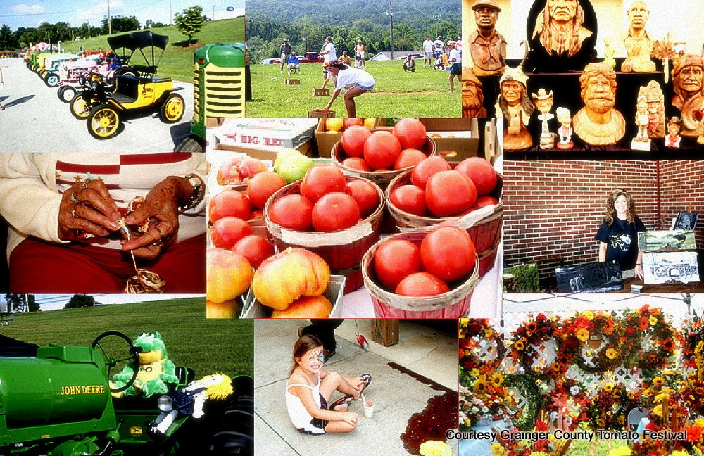 Grainger County Tomato Festival  River Sports Fun French Broad Holston Rivers Conflux at