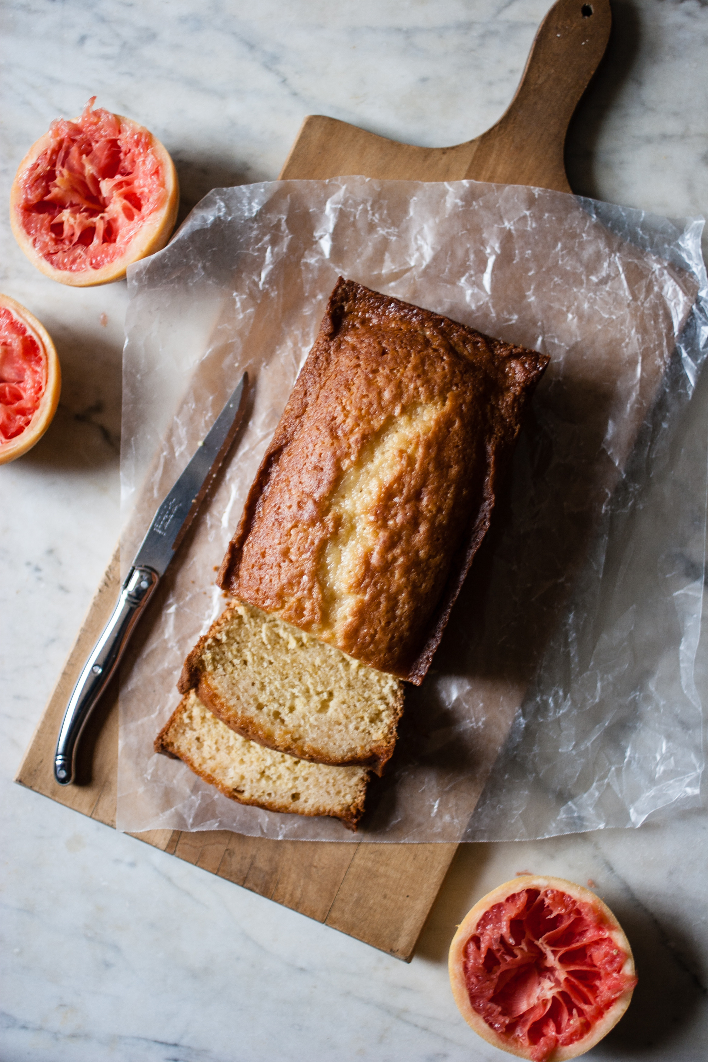Grapefruit Pound Cake  Raw Cane Sugar